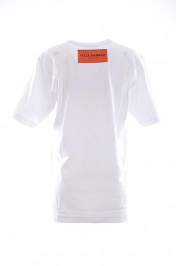 Dolce & Gabbana Camiseta Manga Corta Mujer - F8K27T FH7MN