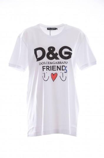 Dolce & Gabbana Camiseta Manga Corta Mujer - F8K74Z FH74I