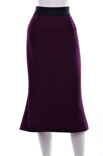 Dolce & Gabbana Women Ruffle Midi Skirt - F4AOWT FU2TZ