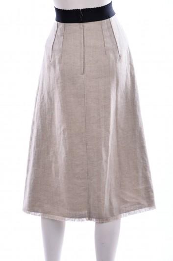 Dolce & Gabbana Women Midi Skirt - F4ATOT FUCDT