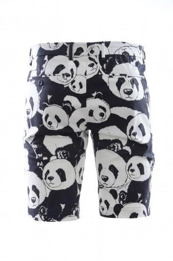 Dolce & Gabbana Pantalón Bermudas Panda Hombre - IY6GMT FSFH5