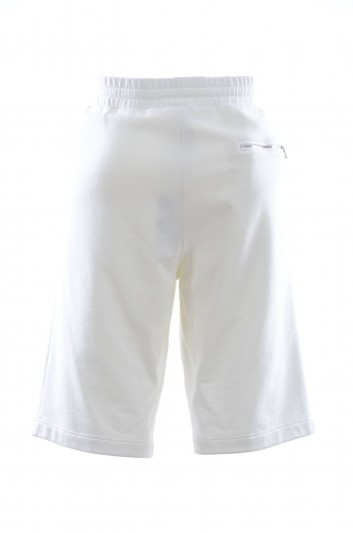 Dolce & Gabbana Men Embroidered Sport Bermudas - I3632Z FU7DU