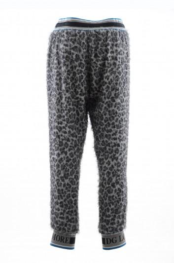 Dolce & Gabbana Pantalón Sport Estampado Animal Hombre - I3617Z G7RCH