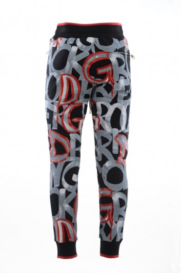 Dolce & Gabbana Men Printed Sport Trousers - GY7PAT HH7DL