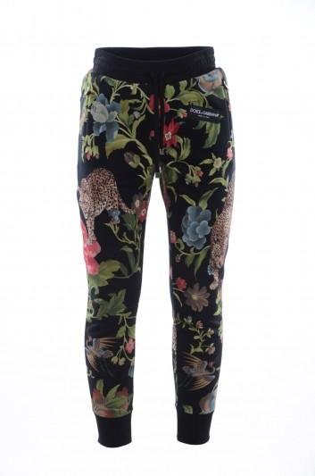 Dolce & Gabbana Pantalón Sport Estampado Hombre - GY7PAT FH7AH