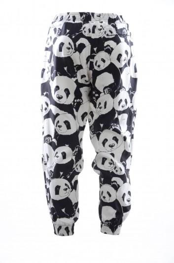 Dolce & Gabbana Men Silk Pandas Trousers - IYBJHT HS11P
