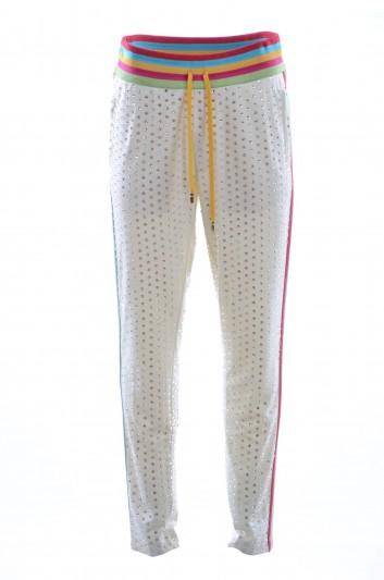 Dolce & Gabbana Pantalón Aplicaciones Joya Hombre - I3628Z G7QXO