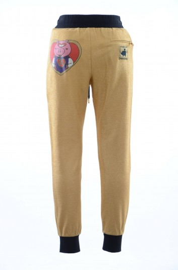 Dolce & Gabbana Men Gold Sport Trousers - GY7PAT HU7B8