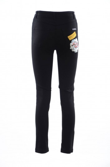 Dolce & Gabbana Women Denim 5 Pockets Trousers - FTAQ1Z G883D