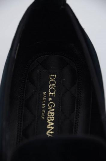 Dolce & Gabbana Men Velvet Loafers - CP0142 AJ341