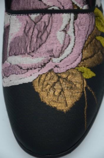 Dolce & Gabbana Mocasiones Bordados Hombre - CP0142 AJ344