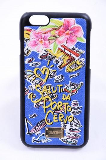 Dolce & Gabbana Funda Iphone 6/6S Porto Cervo Placa Mujer - BI2123 B3432