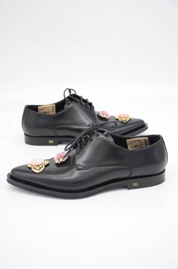 Dolce & Gabbana Zapatos Joyas Cordones Mujer - CN0068 AJ532