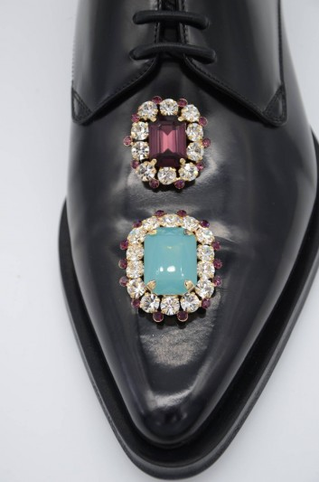 Dolce & Gabbana Zapatos Cordones Joyas Mujer - CN0068 AJ532