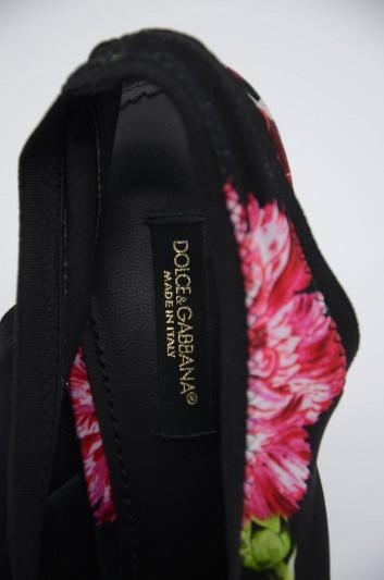 Dolce & Gabbana Women Flowers Slingback Heelled Shoes - CG0310 AJ380