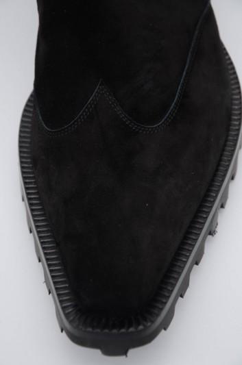 Dolce & Gabbana Men Suede Chelsea Boots - A60235 AA415