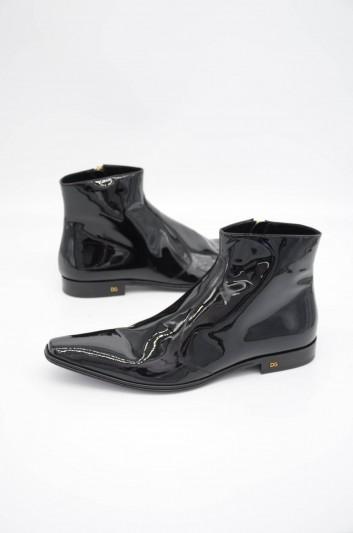Dolce & Gabbana Men Zipped Short Boots - A60233 A1153