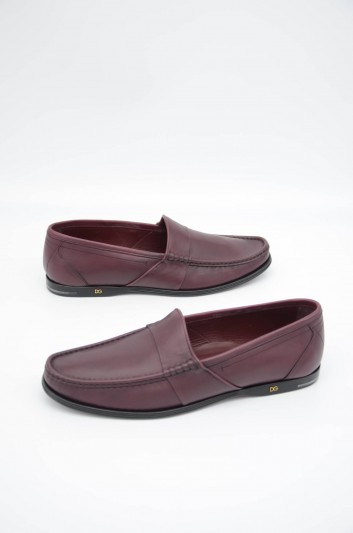 Dolce & Gabbana Men Leather Loafers - A30118 AA612