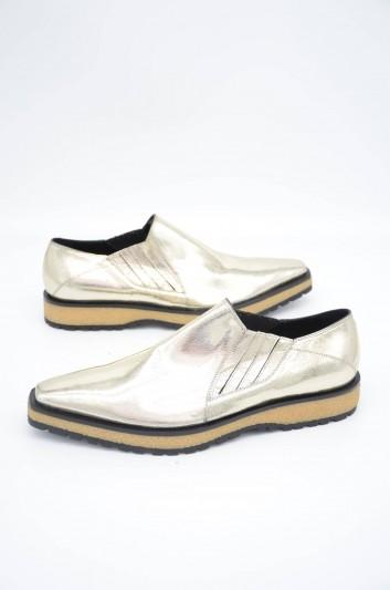 Dolce & Gabbana Men Golden Winkle Picker Shoes - A50315 AA574
