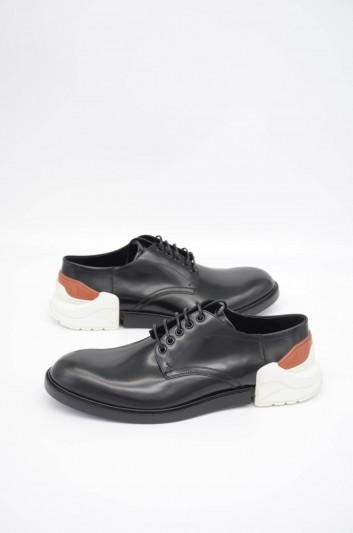 Dolce & Gabbana Men Bicolor Derby Shoes - A10467 AA544