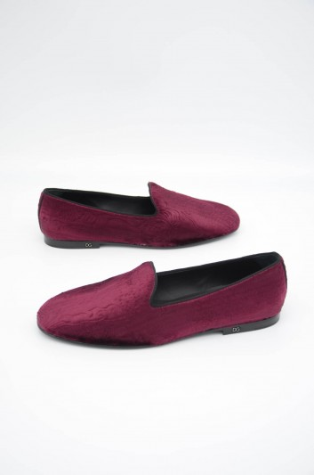 Dolce & Gabbana Men Suede Loafers - A50300 AA422