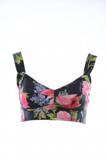 Dolce & Gabbana Top Floral Mujer - F7Y28T FSFIW