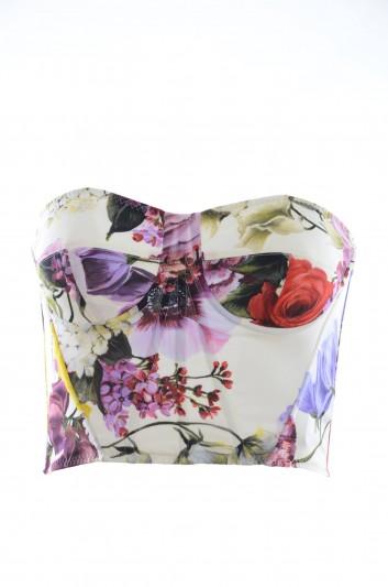 Dolce & Gabbana Top Floral Mujer - F73G5T FSAX3