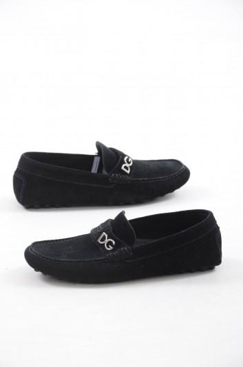 Dolce & Gabbana Men Drivers Rubber Sole Shoes - A30117 B5456