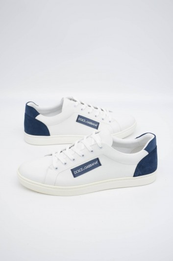 Dolce & Gabbana Men Low-top Leather Sneakers - CS1640 B5703