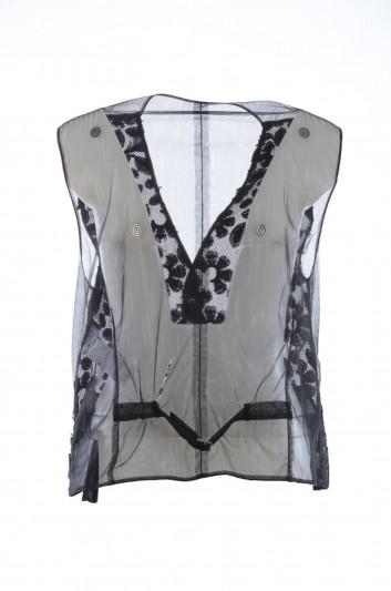 Dolce & Gabbana Women Transparent Waistcoat - F79R5Z HLMC3