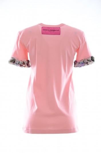 Dolce & Gabbana Women Short Sleeves T-shirt - F8K74Z G7SBC