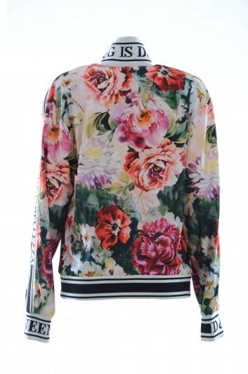 Dolce & Gabbana Women Zipped Flowers Cardigan - F9C50T FSRKN