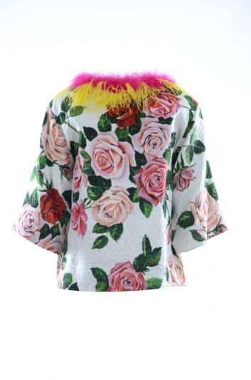 Dolce & Gabbana Women Flowers Coat - F0G64Z HSMXK