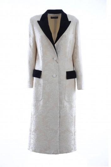 Dolce & Gabbana Abrigo Largo Mujer - F0Y67T HJMHK