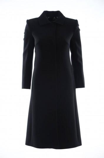 Dolce & Gabbana Women Long Wool Coat - F0T68T FUBCI