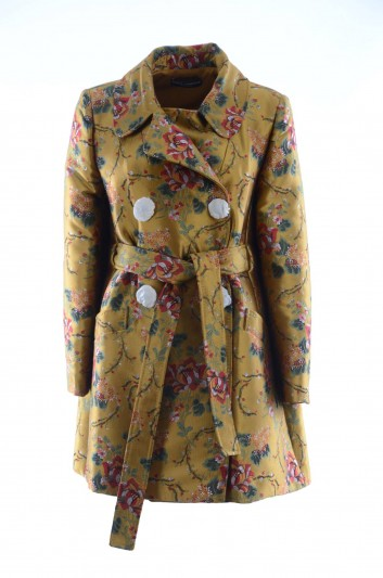Dolce & Gabbana Abrigo Flores Mujer - F0X93Z HJMFU