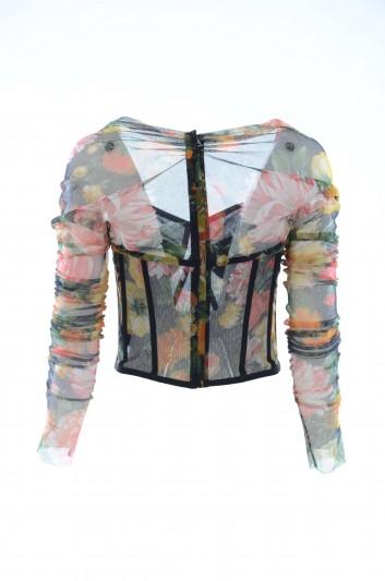 Dolce & Gabbana Top Floral Mujer - F73P0T FSEGV