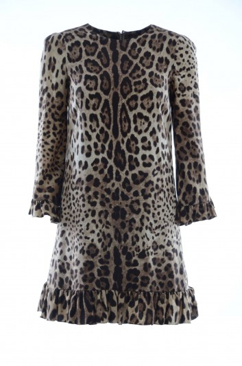 Dolce & Gabbana Women Animal Print Dress - F65Y6T FSADD