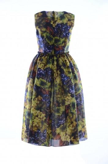 Dolce & Gabbana Women Sleeveless Floral Long Dress - F6A1WT HS1NP
