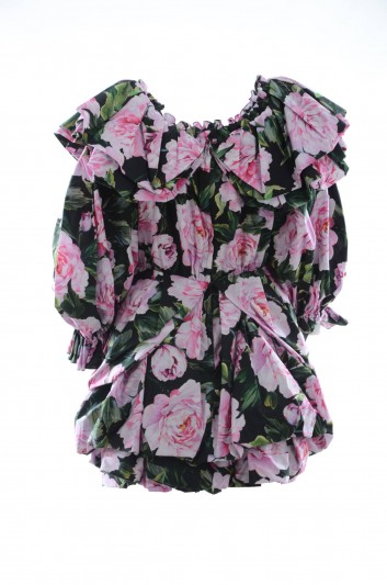 Dolce & Gabbana Women Volume Floral Mini Dress - F6D9HT HS5DO