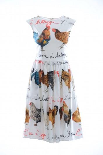 Dolce & Gabbana Vestido medio Mujer - F6B1FT HS5BP