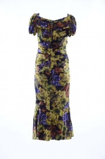 Dolce & Gabbana Women Printed Long Dress - F6A3FT FSATC