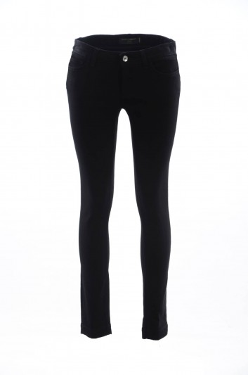 Dolce & Gabbana Women Denim Queen Trousers - FTAH7Z G8T27