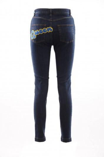 Dolce & Gabbana Women Queen Denim Trousers - FTAH6Z G981B