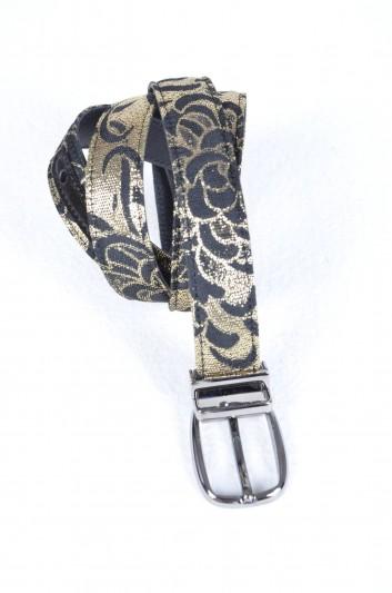 Dolce & Gabbana Cinturón Brocado Hombre - BC3953 AF615
