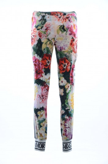 Dolce & Gabbana Women Floral Pants - FTA1DT FSRKN