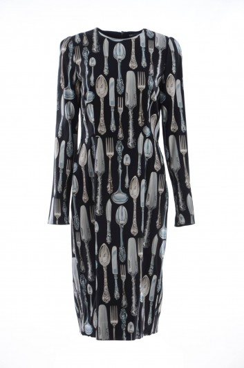 Dolce & Gabbana Women Cutlery Dress - F6B8KT FSRKA