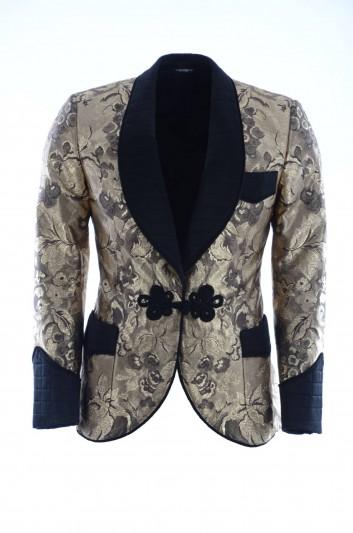 Dolce & Gabbana Men Silk Suit Jacket - G2LR4T FJM2R