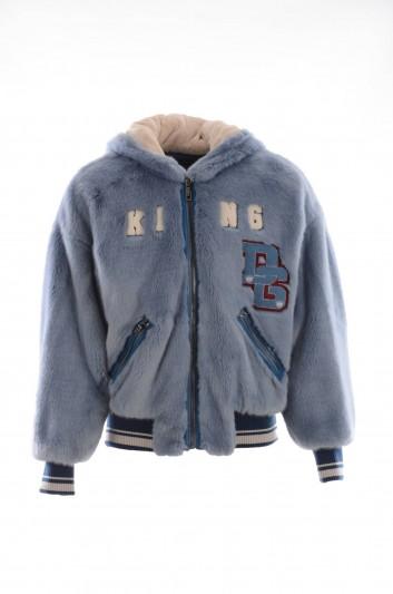 Dolce & Gabbana Men Bear Hat Jacket - G9LX3Z G7OUH