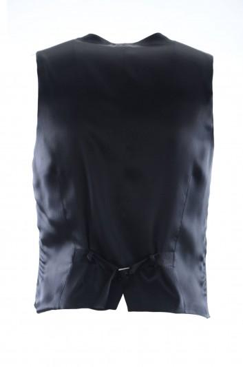 Dolce & Gabbana Chaleco Vestir Coronas Hombre - G700MZ HHMCF
